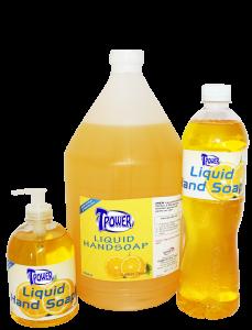 Tpower Liquid Hand Soap Lemon